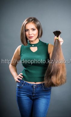 Kazakh hair donations | hairykrishna211 | Flickr Long To Short Hair, Long Hair Cuts, Long Bob, Short Hair Styles, Long Hair Ponytail, Ponytail Hairstyles, Cut My Hair, Cut And Style, Bob Cut
