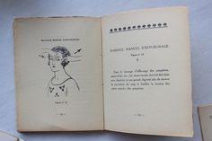 #AcademieScientifiquedeBeaute heeft altijd haar eigen opleiding voor schoonheidsspecialisten gehad. Hier zie je een van de eerste instructieboeken van hun. #schoonheidsverzorging