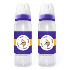 2-Pack of Bottles - Minnesota Vikings