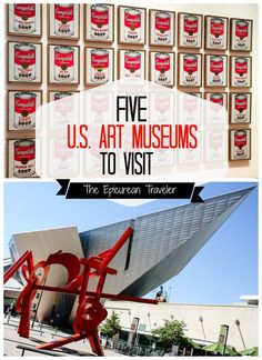 If you like art, this lists five of the top museums in the United States. | EpicureanTravelerBlog.com