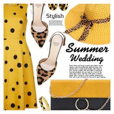 """Stylish Summer Wedding"" by shoaleh-nia ❤ liked on Polyvore featuring Hobbs and Francesco Russo"