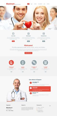 Template 50908 - Maximum Clinic  Responsive WordPress  Theme