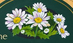 The Daisy Patch House Sign Detail / Danthonia Designs