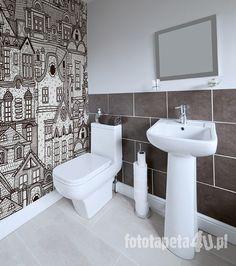 Old city #wallpaper by Fototapeta4u.pl