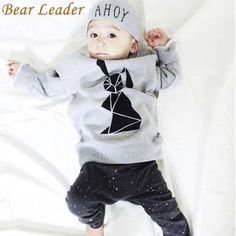 Baby Boys Clothing Sets Baby Clothes Rabbit Printing T-shirt pants Baby clothing set Long Sleeve Baby Set $18.69 => Save up to 60% and Free Shipping => Order Now! #fashion #woman #shop #diy www.bbaby.net/...