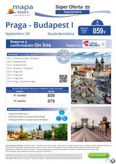 Praga-Budapest I desde Barcelona septiembre**Precio Final desde 859** ultimo minuto - http://zocotours.com/praga-budapest-i-desde-barcelona-septiembreprecio-final-desde-859-ultimo-minuto-8/