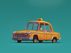 Hey guys,  We've got some classic car for you. Here you go, it's NY taxi The Checker Cab.  As always there is a big version in the attachment.