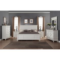 Coralayne Silver Bedroom Set … | Pinteres…