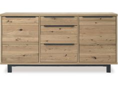 Savannah 3 Section Sideboard, Wild Oak Oak Dining Sets, Oak Dining Room, Dining Room Sideboard, Oak Sideboard, Dining Room Furniture, Furniture Making, Dining Chairs, Barker And Stonehouse, Large Tv