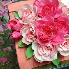 #paperflowers #roses