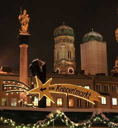 Christmas Markets, Munich Marienplatz