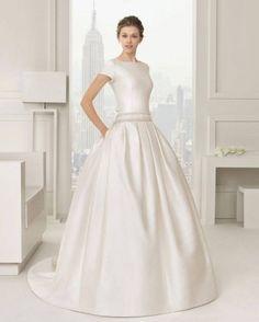 Vestidos de boda para invitadas rosa clara