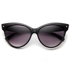 New High Pointed Tip Inset Frame Oversize Womens Fashion Cat Eye Sunglasses 8462 | eBay