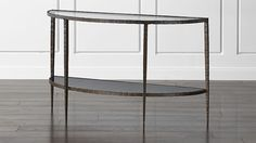 Clairemont Demilune Console Table | Crate and Barrel