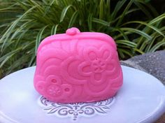 Soap  PINKY PURSE  Weight 3 Oz Handmade Soap With by 5thAveSoaps