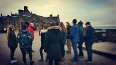 #Scotland #Fall students had the chance to check out the #edinburghcastle ! #ispyapi #studyabroad