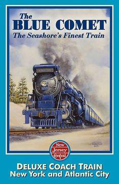 POSTER 1927 CENTENARY BALTIMORE OHIO RAILROAD TRAIN USA VINTAGE REPRO FREE S//H