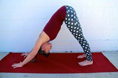 Downward Facing Dog Pose | BeachbodyBlog.com
