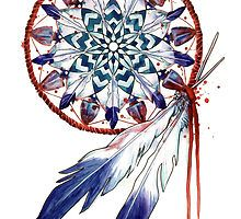 Dreamcatcher Mandala by SamNagel