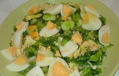 """Ανοιξιάτικη σαλάτα με τον """"αροδαμό τση λεμονιάς"""" και τα πασχαλινά αυγά - cretangastronomy.gr Potato Salad, Potatoes, Ethnic Recipes, Food, Potato, Essen, Meals, Yemek, Eten"""