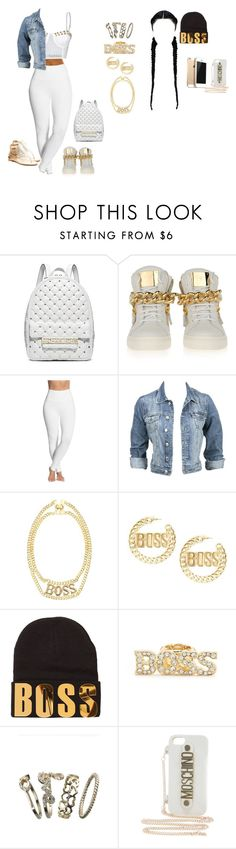 """""""Dec,20th,2k14 Boss by:Tinashe"""" by tymeshalove ❤ liked on Polyvore featuring Michael Kors, Giuseppe Zanotti, Lyssé Leggings, Modström, Charlotte Russe, Accessorize, Moschino, N.Y.L.A., women's clothing and women"""