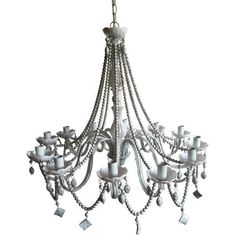 Avery Beaded Chandelier Dimensions:28 inch x 30 inch x 30 inch Weight:10.6 lbs