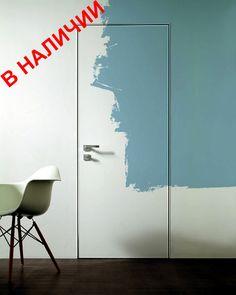 Межкомнатные двери Скрытые Скрытая дверь S1