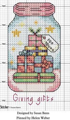 Xmas Cross Stitch, Cross Stitch Christmas Ornaments, Cross Stitch Needles, Cross Stitch Cards, Cross Stitch Alphabet, Christmas Cross, Cat Cross Stitches, Cross Stitching, Cross Stitch Embroidery
