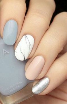 Spring nails: branches.