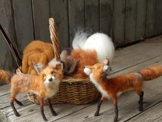 Needle Felting Tutorial Fox - Fox Supply Pack: To Follow the Sarafina Fox Video Series
