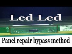 In this video has been shown that how to repair LCD LED TV panel as bypass method. LCD LED TV panel repair without bonding machine. Electronics Basics, Electronics Projects, Free Software Download Sites, Sony Led, Electronic Circuit Projects, Tv Panel, Led Board, Computer Help, Tv Services