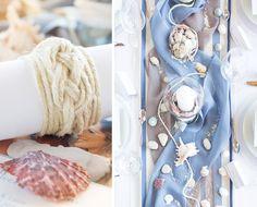 Mit Fischernetz und Seemansknoten in den Hafen der Ehe