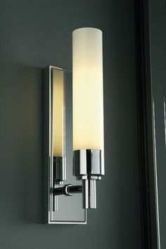 Robern Single Wall Sconce - Tinted Gray Mirror
