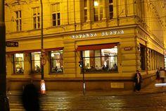 Cafe Slavia, Prague