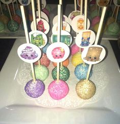 Shopkins Cake Pops - these are more my level!!