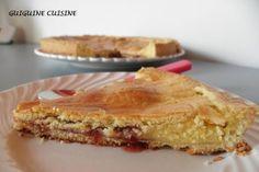 Gâteau basque ... aux fraises