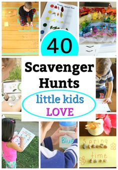 These spring activities for preschoolers will keep kids engaged and learning. Cute crafts, outdoor games, fun projects and rainy day activities await! Educational Activities For Preschoolers, Creative Activities For Kids, Rainy Day Activities, Spring Activities, Backyard Scavenger Hunts, Preschool Scavenger Hunt, Fun Learning, Teaching Kids, Toddler Preschool