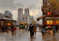 Notre Dame, Edouard Cortes