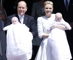 On December 10, Prince Albert and Princess Charlene's precious cherubs celebrate their first birthday.
