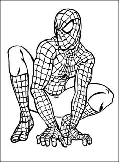 printable spiderman coloring pages - Google Search