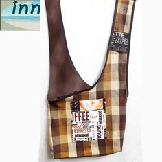 Sling/Messenger Bag by InnateArtisanShop on Etsy