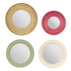 Haddon Mirror Round