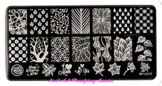 Nail Art Stamping Mania: New Born Pretty BP-L Rectangular Plates Review