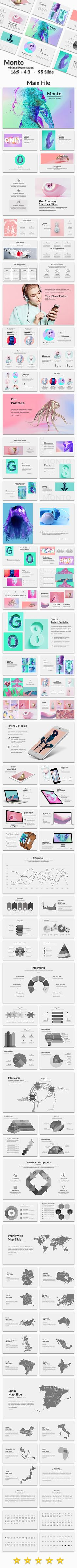memphis powerpoint templatedublin_design on @creativemarket, University Of Memphis Presentation Template, Presentation templates