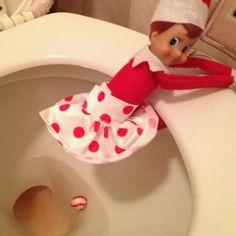 Good for a toddler being potty trained during the holidays? LOL