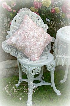 Rose Blush Square Pillow