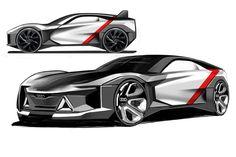 Audi Quattro - chebin LEE on Behance