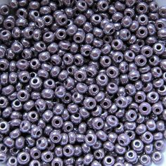 30G Bag of Black Opaque 4mm Glass Seed Beads Rocaille