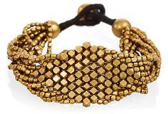 Diamond Shape Beaded Bracelet on OneKingsLane.com