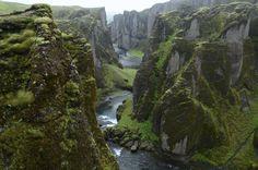 Fjadrargljufur Canyon, Ijsland
